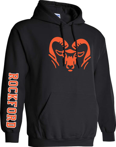 TRADITIONAL ROCKFORD RAM HEAD HOODIES