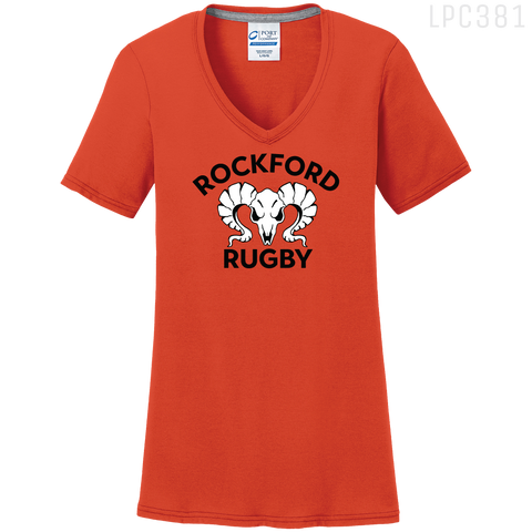 LPC381V LADIES PERFORMANCE V-NECK