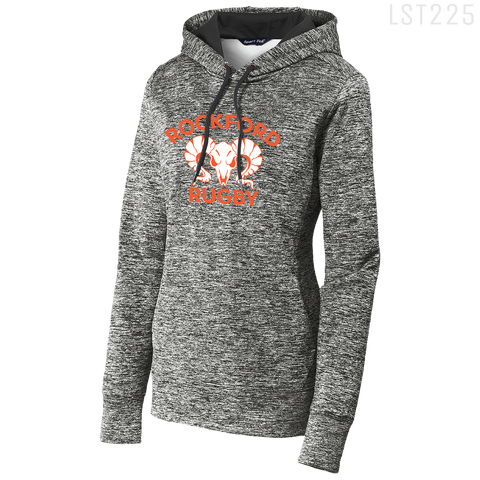 LST225 LADIES POSICHARGE® HOODED PULLOVER