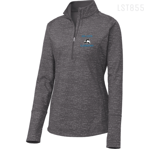 LST855 LADIES 1/2 ZIP PULLOVER