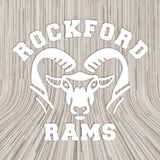 ROCKFORD RAM HEAD DECAL