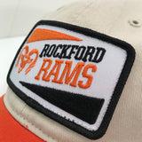 ROCKFORD RAMS PATCH HAT