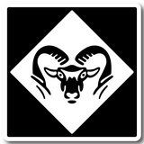 RAM HEAD DECALS