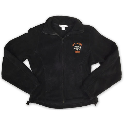 Rockford Rams Ladies Full Zip Fleece