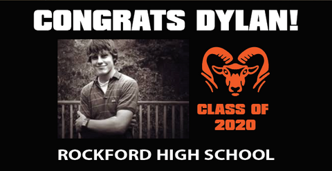 GRADUATION BANNER #1 - (PERSONALIZED)