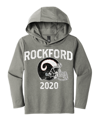 Rockford Football 2020 District ® Youth Perfect Tri ® Long Sleeve Hoodie