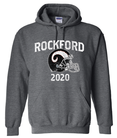 Rockford Football 2020 Gildan® Heavy Blend™ Adult Hooded Sweatshirt
