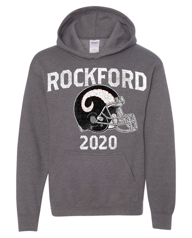 Rockford Football 2020 Gildan® Heavy Blend™ Youth Hooded Sweatshirt