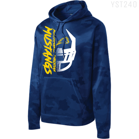 YST240 NPC YOUTH CAMOHEX HOOD