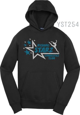 YST254 YOUTH PULLOVER HOOD