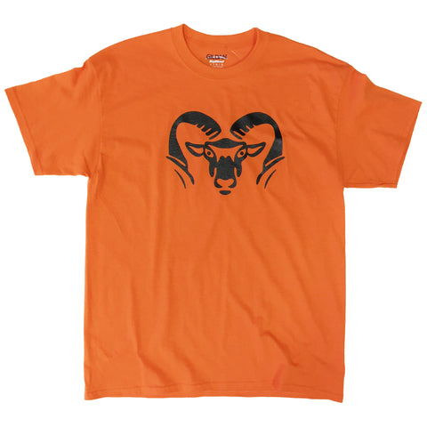ROCKFORD RAMS RAM HEAD T-SHIRTS