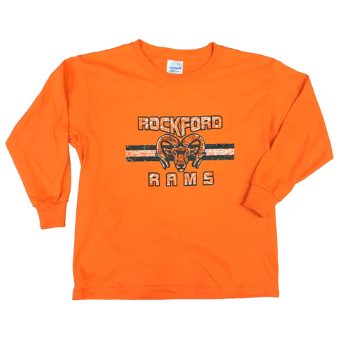 ROCKFORD RAMS  LONG SLEEVE PRINT