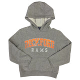 KIDS ROCKFORD RAMS DISTRESS PRINT HOOD