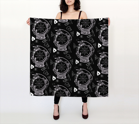 Gypsy Mistress Big Scarf - Mischievous Design