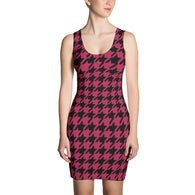 Rad Houndstooth Shift Dress