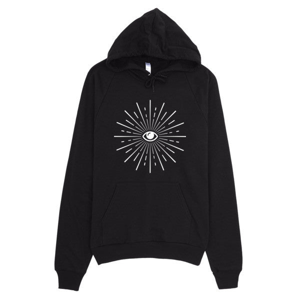 Eye'm Watching Hoodie - Mischievous Design