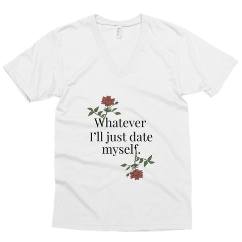 Whatever Unisex Vneck Tee