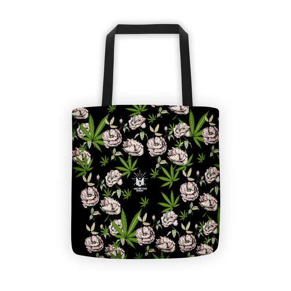 Cannababe Floral Tote bag