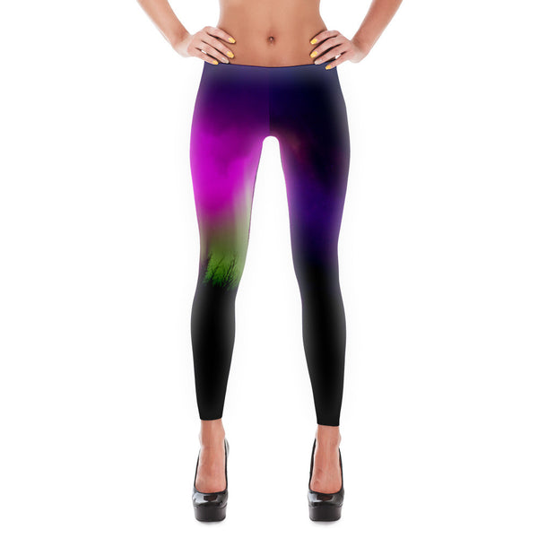 Dark Auroras Classic Leggings - Mischievous Design