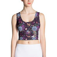 A Shade Darker Crop Top - Mischievous Design