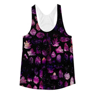 Crystals & Galaxies Women's Racerback Tank