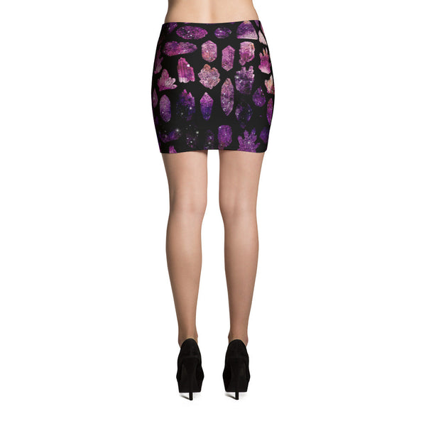 Crystals & Gems Mini Skirt