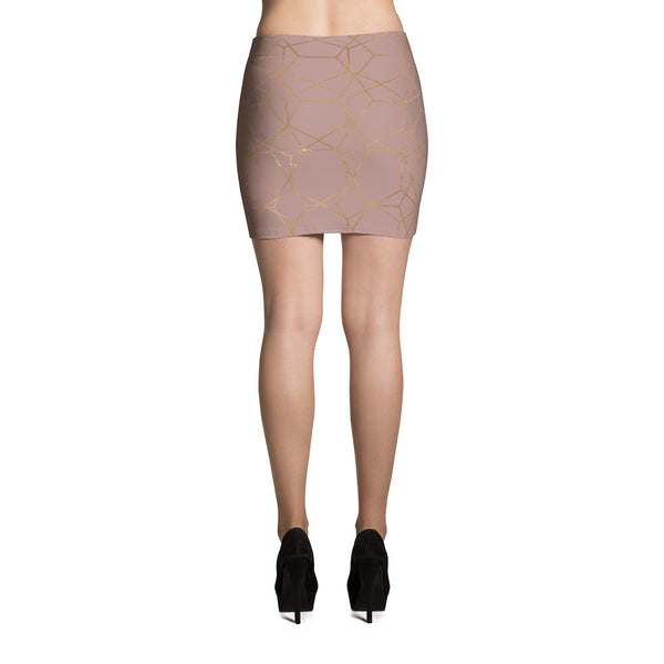 Divine Geometry Mini Skirt