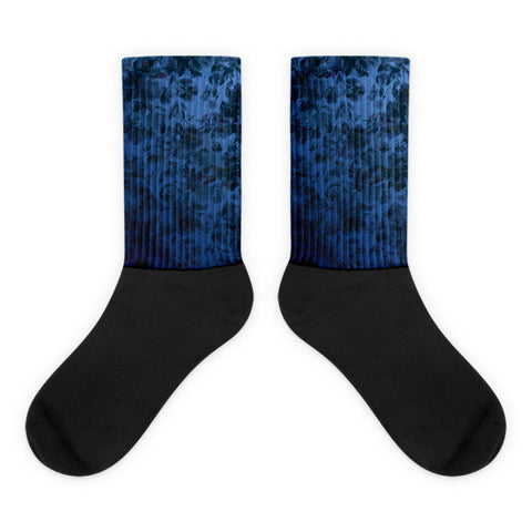 XMS Black foot socks - Mischievous Design