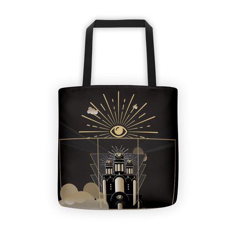Eye'm Watching in Deco Tote bag