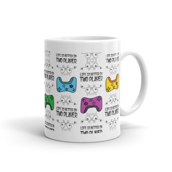 Two Player Mug - Mischievous Design