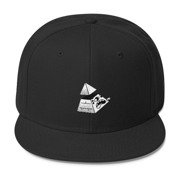 Capitoleyes Pyramid Wool Blend Snapback Hat
