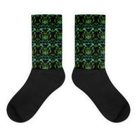 Cannabis Damask Socks