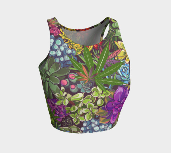 High Succulent Athletic Crop Top