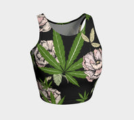 Cannababe Athletic Crop Top