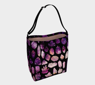 Crystals & Galaxies Day Tote