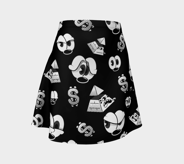 Capitoleyes Darkside Ecopoly Skirt