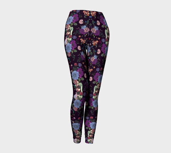 A Shade Darker EcoPoly Classic Leggings - Mischievous Design