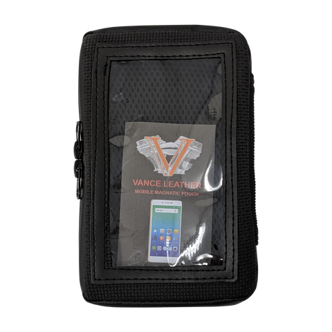 VS419 Motorcycle Magnetic Cell Phone & GPS Holder Tank Bag