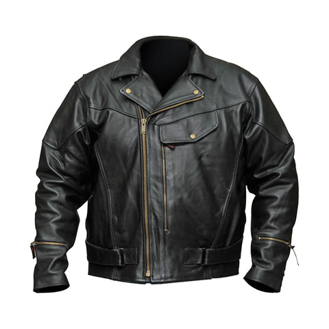 VL510 Vance Leather Men's Pistol Pete-Chief Jacket Top Grain Leather