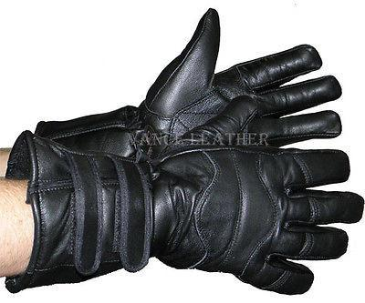 VL404 Vance Leather Two-Strap Lambskin Insulated Gauntlet Glove