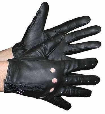VL442 Vance Leather Zipper Driving Gloves VL442