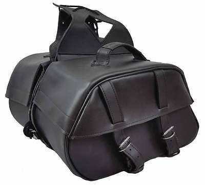 VS221 Vance Leather Medium Slant Saddle Bag
