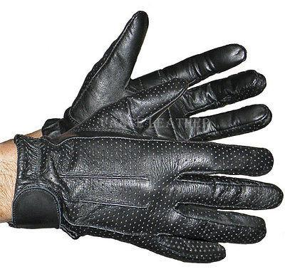 VL407 Vance Leather Perforated Driving Glove