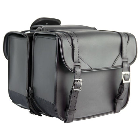 VS202 Medium Size PVC Biker Saddlebags