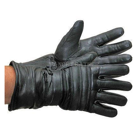 VL419 Vance Leaather Padded and Insulated Winter Gauntlet Gloves