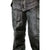 VL805S Zip-Out Insulated and Lined Plain Biker Leather Chaps