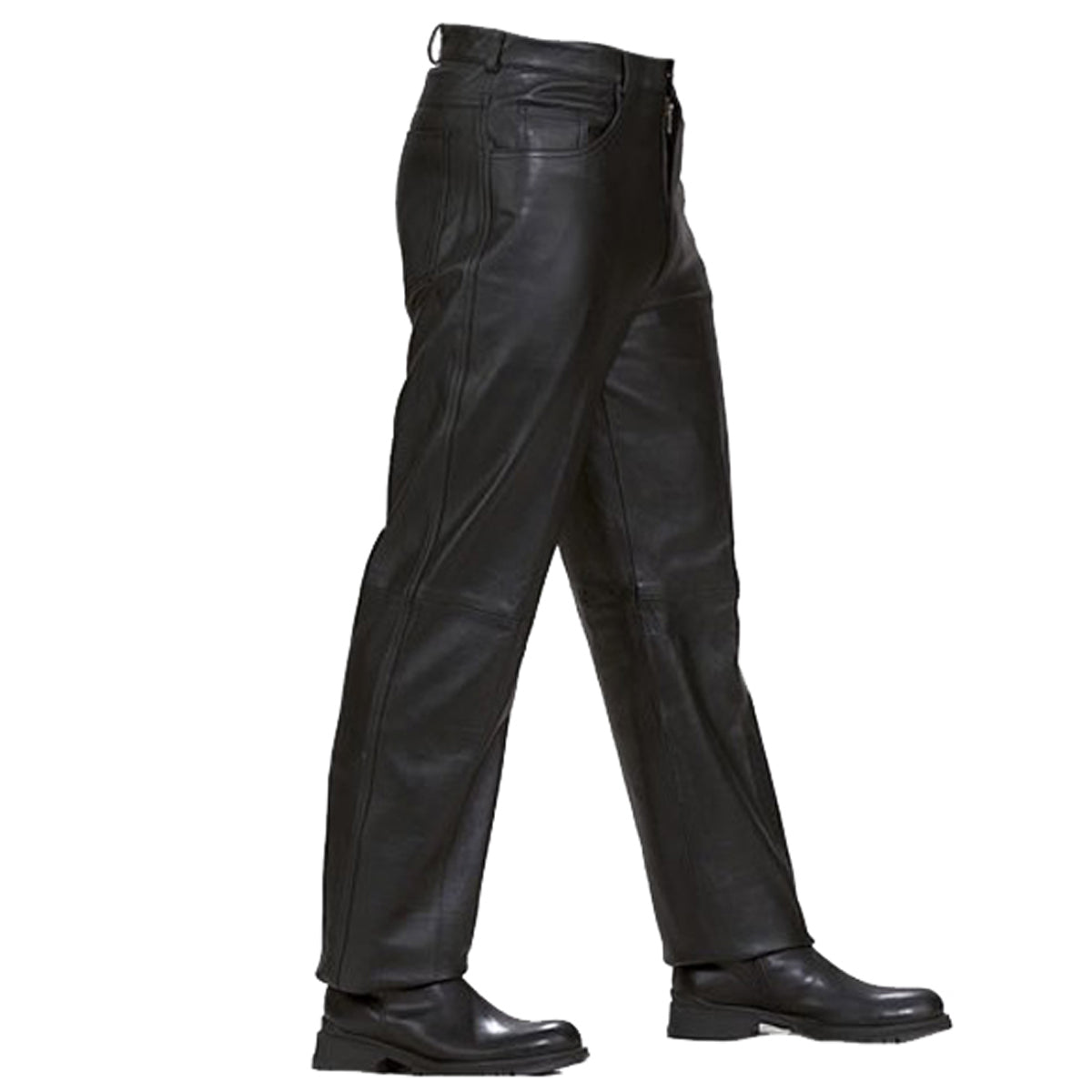 43e025653cd5b7 LP500 Jean Style Leather Pants – Vance Leather