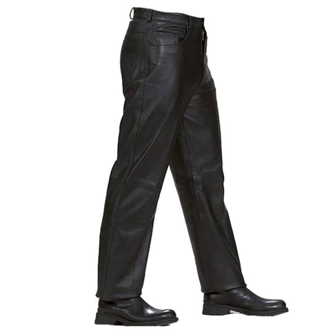 LP500 Jean Style Leather Pants