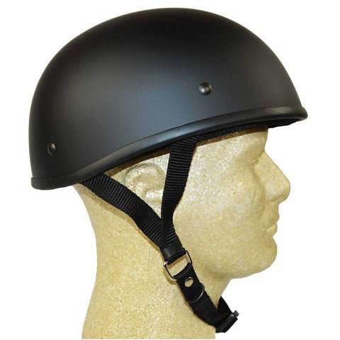 HD2101F DOT Helmet Flat Black Eagle