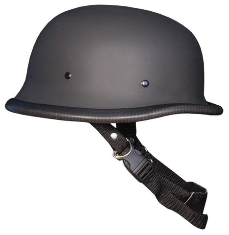 HF2303 NOVELTY German Flat Black Helmet